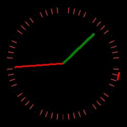 HTML5学习之路 - 时钟